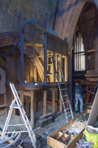 St. Urbanuskerk Bovenkerk - verwijderen orgel uit toren