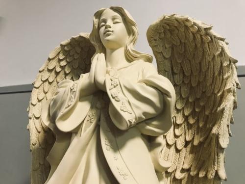 St. Urbanuskerk Bovenkerk - Engel voor urnenmuur