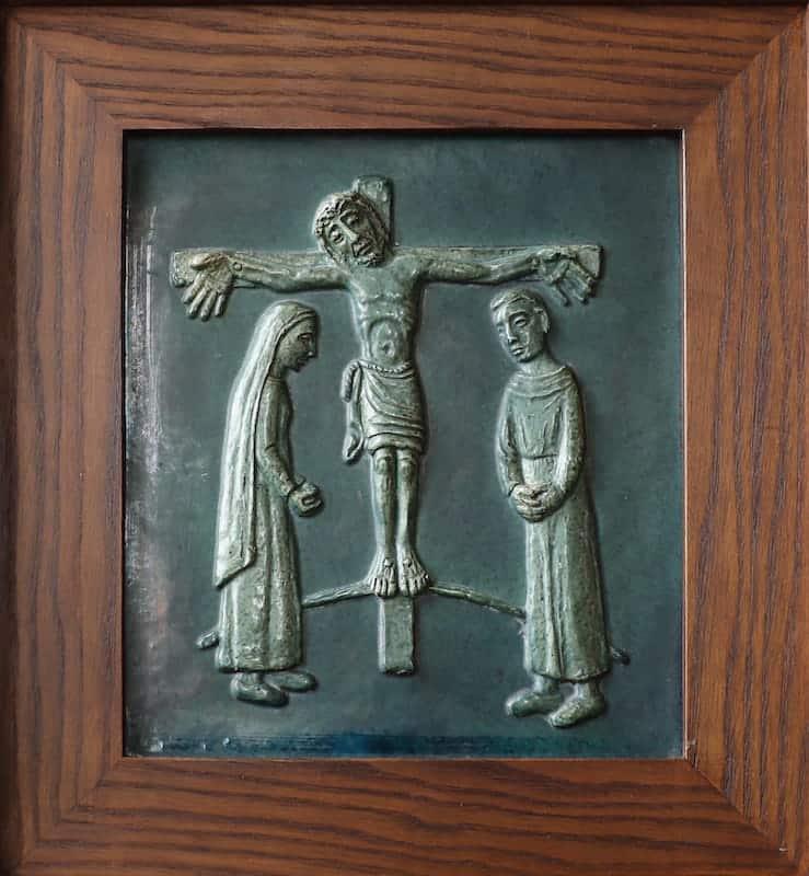 12e statie: Jezus sterft aan het kruis