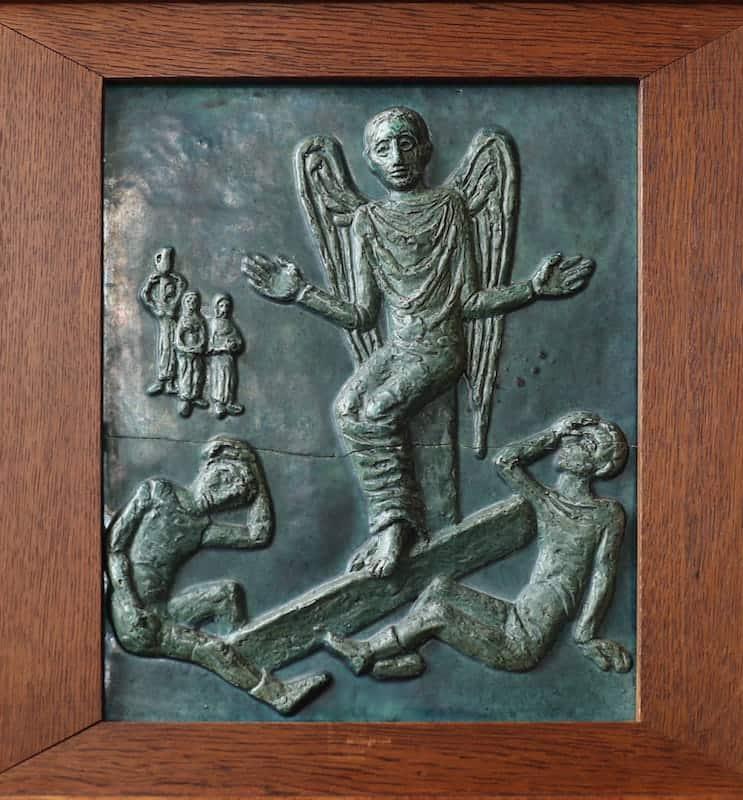 15e statie: Jezus verrijst uit het graf