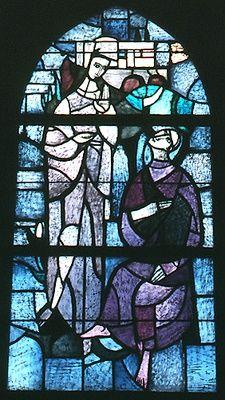 Jezus spreekt met de farizeeër Nicodemus